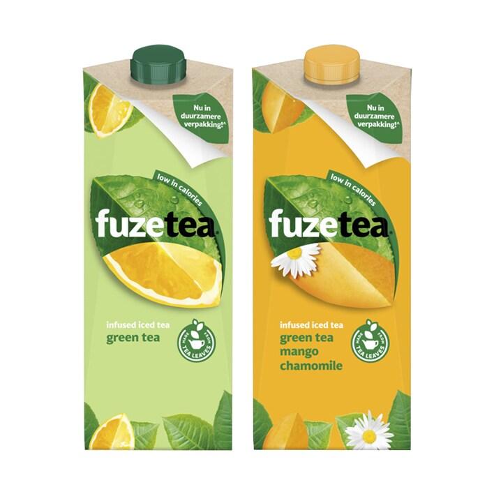 Een afbeelding van Fuze tea ijsthee bundel