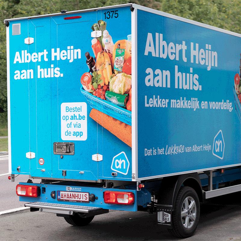 Doe de postcodecheck en ontdek of Albert Heijn België bij jou in Vlaanderen boodschappen thuis levert!