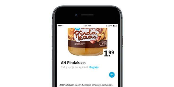 Vind alle producten in de Albert Heijn app.