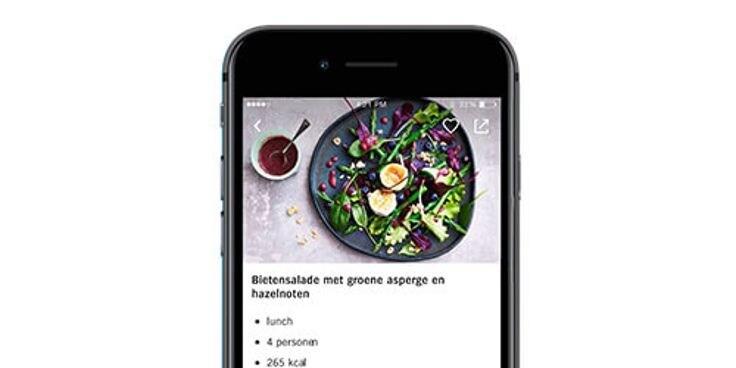 Vind alle recepten in de Albert Heijn app.