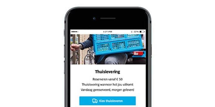 Reserveer alles in de Albert Heijn app.