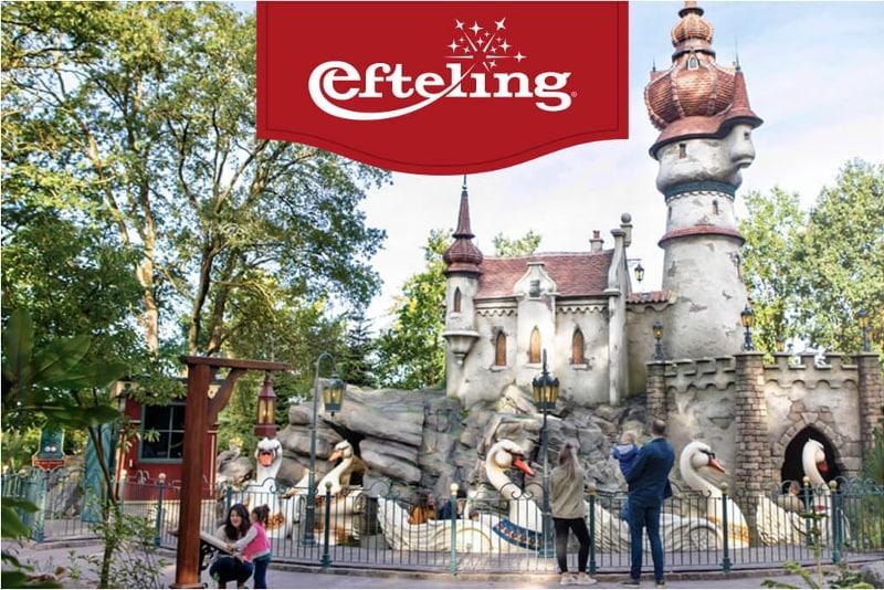 Bekijk alle attracties in de Efteling die je kan bezoeken met een ticket van Albert Heijn.