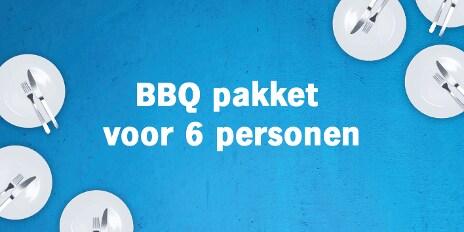 BBQ pakket 6 personen