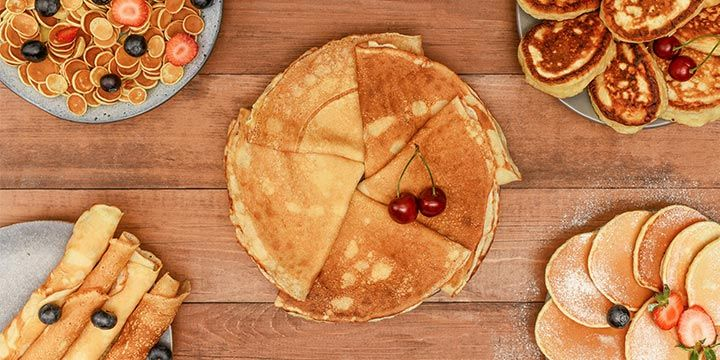 Zoete en hartige pannenkoeken voor je ontbijt of lunch