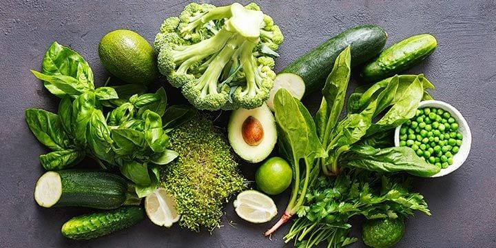 Verse groente van Albert Heijn.
