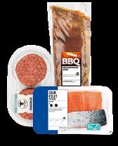 Haal vlees en vis in huis voor een heerlijke BBQ bij Albert Heijn.