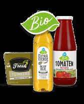 Biologische sauzen, kruiden en pastas bij Albert Heijn