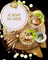 Je bent nu op de pagina van Albert Heijn met alles voor het voorgerecht tijdens kerst.