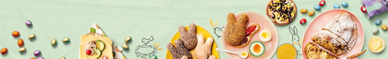 Reserveer alle producten voor een paasontbijt bij Albert Heijn.