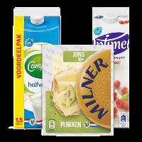 Een afbeelding van Bij €12.50 aan producten van o.a. Optimel