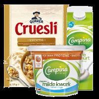 Een afbeelding van Bij €12.50 aan producten van o.a. Campina