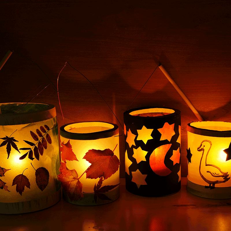 Vind hier tips om een mooie lampion te maken voor Sint Maarten.