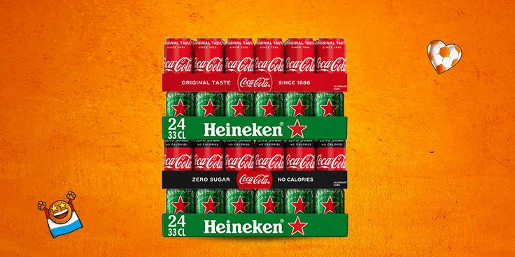 Scoor de lekkerste borrelproducten voor het EK bij Albert Heijn.