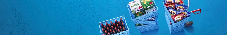 Ook producten voor de borrel kunt u vinden in het zakelijke assortiment van Albert Heijn.