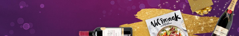 Bestel mooie kerstgeschenken voor je personeel of zakenrelaties en laat ze bezorgen door Albert Heijn.