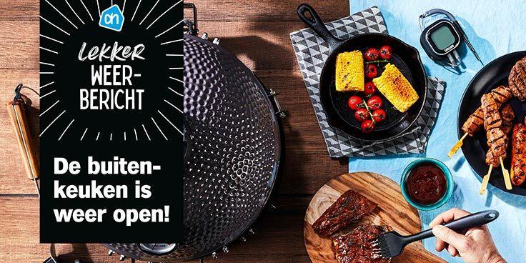 Bestel je barbecue en accessoires bij Albert Heijn