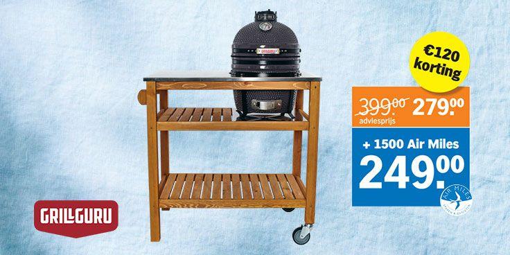 Grill Guru BBQ-tafel bestellen in de BBQ-shop bij Albert Heijn