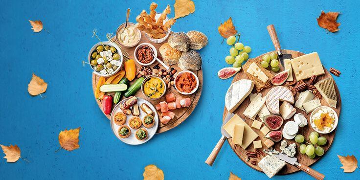 Tapas, kaasjes, herfstwijn en bokbier voor een perfecte herfstborrel bestellen bij Albert Heijn