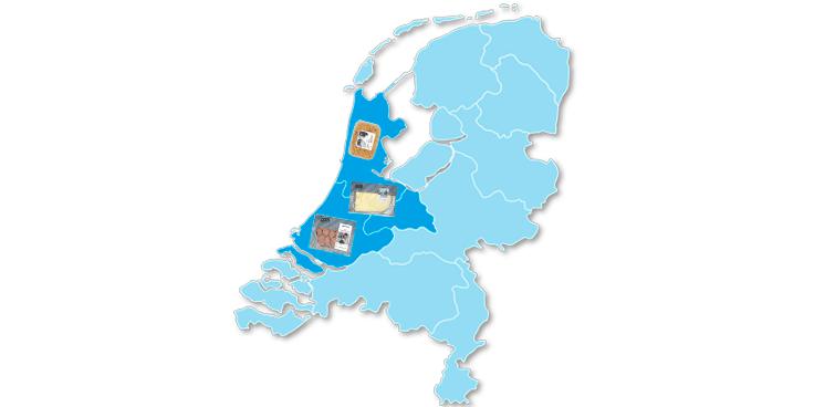 Lokale specialiteiten uit het westen van Nederland bij Albert Heijn