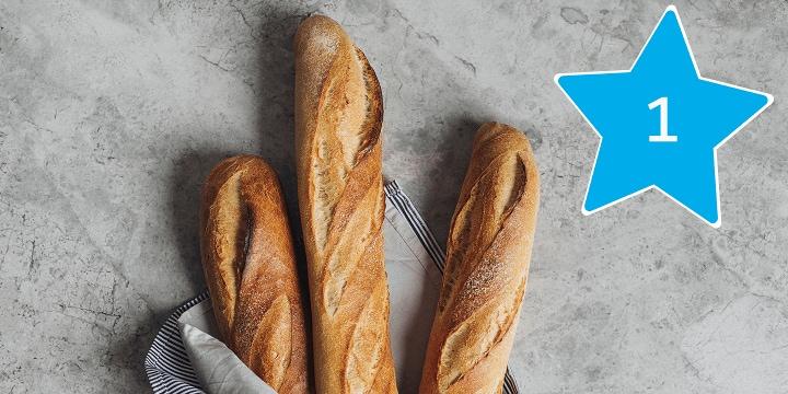 Alles voor het bakken van stokbrood bestel je bij Albert Heijn