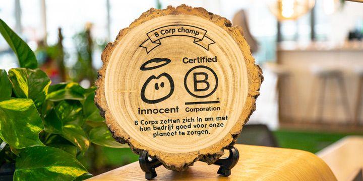 Innocent is aangesloten bij B-corp. Lees meer hierover bij Albert Heijn!
