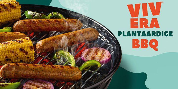 Plantaardige BBQ-worst van Vivera bij Albert Heijn
