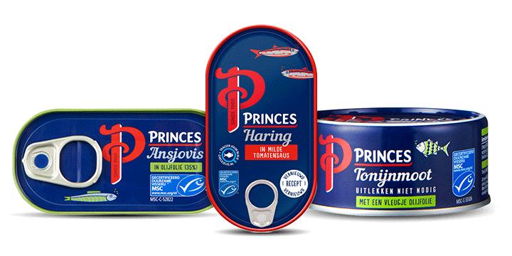 Princes vis in blik bestellen bij Albert Heijn