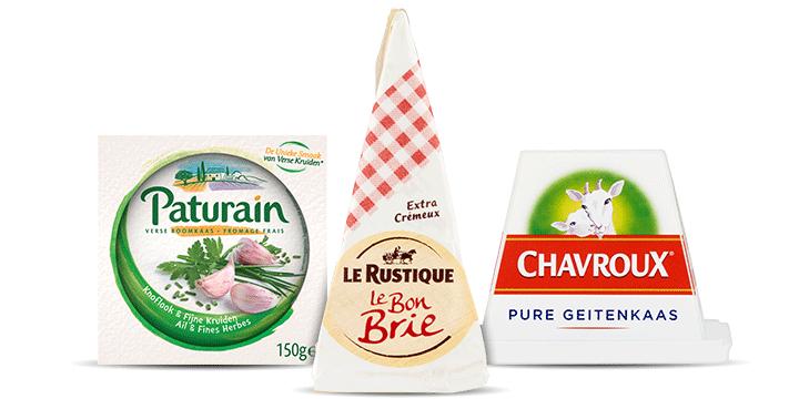 Franse kaasjes voor op brood of een kaasplankje bestellen bij Albert Heijn