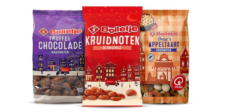 Bolletje kruidnoten in verschillende smaken bestellen bij Albert Heijn