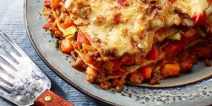 Verse Italiaanse lasagne maken met een verspakket van Albert Heijn