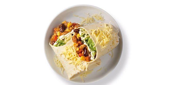 Mexicaanse burrito met kruiden van Verstegen bij Albert Heijn