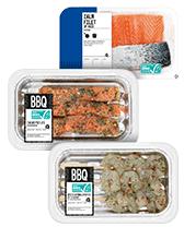 BBQ-vis bestellen bij Albert Heijn