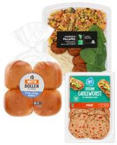Lunchsalades, bolletjes en (vegan) beleg voor de lunch bestellen bij Albert Heijn