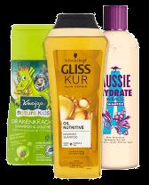 Shampoo en haarspray van Etos zoals Gliss Kur oil nutritive en Aussie hydrate miracle shampoo vind je bij Albert Heijn