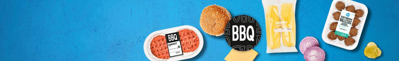 BBQ hamburger, vegetarisch en groenten bij Albert Heijn