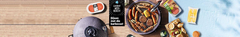 Alles voor de BBQ van hamburger tot vega burger en mais bij Albert Heijn