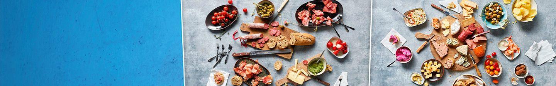 Alle hapjes, kaasjes en toastjes voor een complete borrelplank bestellen bij Albert Heijn