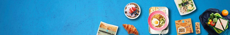 Alles voor je ontbijt, lunch, tussendoor en avondeten bestel je bij ah.nl
