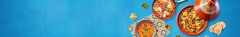 Midden-Oosterse en Noord-Afrikaanse gerechten uit de wereldkeuken bij Albert Heijn
