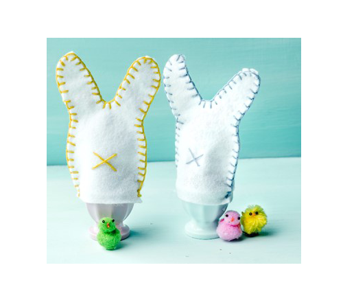 Knutselen met Paseen - eierwarmers maken