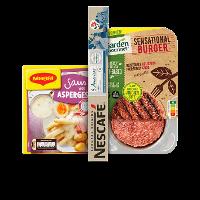 Een afbeelding van bij €10 aan o.a. Garden Gourmet producten*