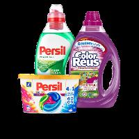 Een afbeelding van bij €10 aan o.a. Persil en Witte Reus producten*