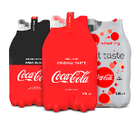 Een afbeelding van bij 2 Coca-Cola producten*