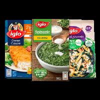 Een afbeelding van bij €10 aan Iglo producten*