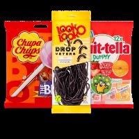 Een afbeelding van bij €8.50 aan o.a. Fruittella en Look-O-Look producten*