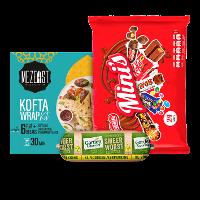 Een afbeelding van bij o.a. 4 Garden Gourmet en Nestlé mini mix producten*