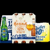 Een afbeelding van bij o.a. 3 Heineken en Brand producten*