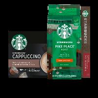 Een afbeelding van bij 4 Starbucks producten*