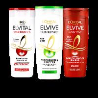 Een afbeelding van bij €8 aan Elvive en Loving Blends producten*