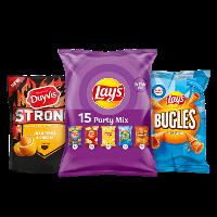 Een afbeelding van bij 5 Lay's, Duyvis en Cheetos producten*
